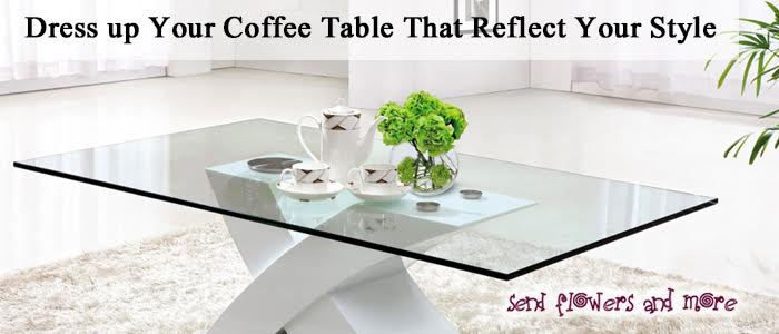 10 ideas to dress up your coffee table that reflect your style. Black Bedroom Furniture Sets. Home Design Ideas