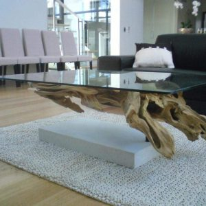 Innovative Ideas for New Driftwood End Tables
