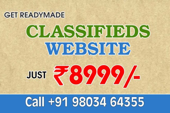 buy readymade classifieds website