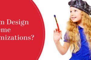 wordpress custom themes designing