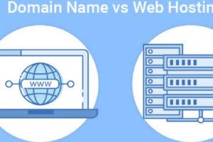 domain vs hosting