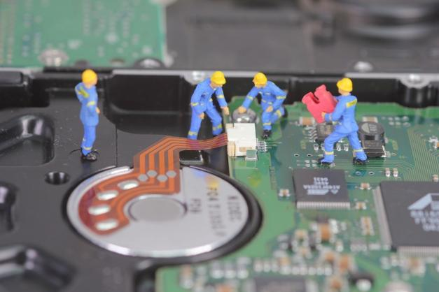 How data can be utilized and prevented when hard drive failed