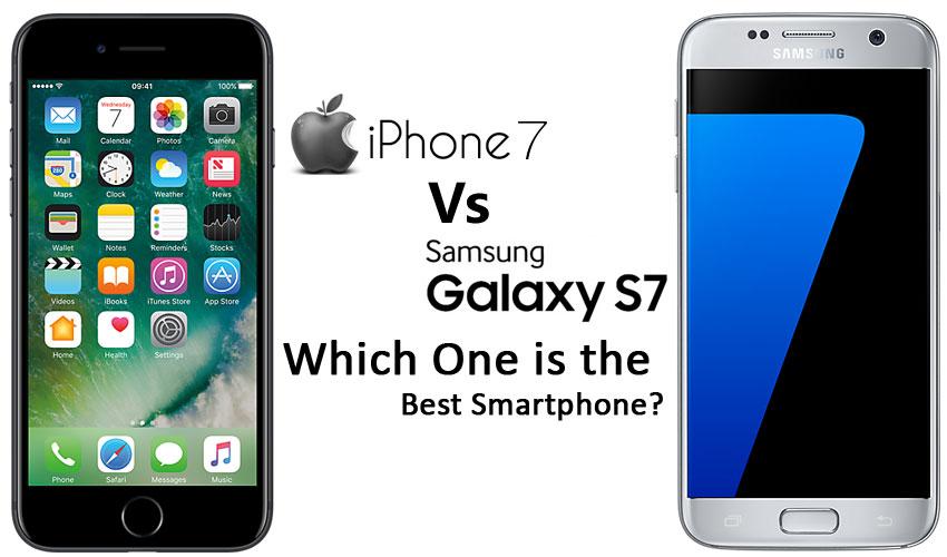 iPhone 7 vs. Galaxy S7