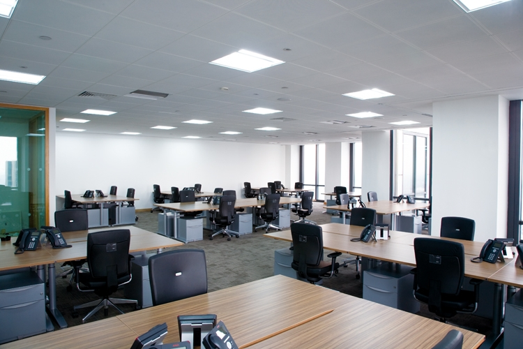 select furnished office space