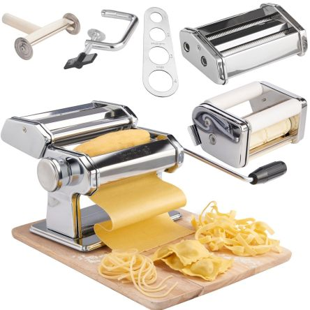 vonshef-3-in-1-stainless-steel-pasta-maker