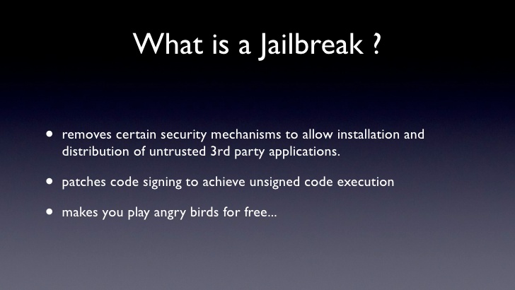What Is A Jailbreak?