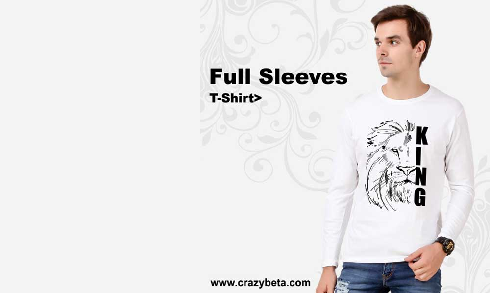 full sleeves t shirt