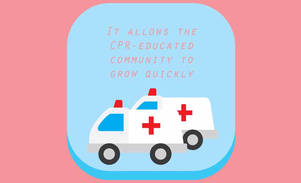 It allows the CPR-educated community to grow quickly