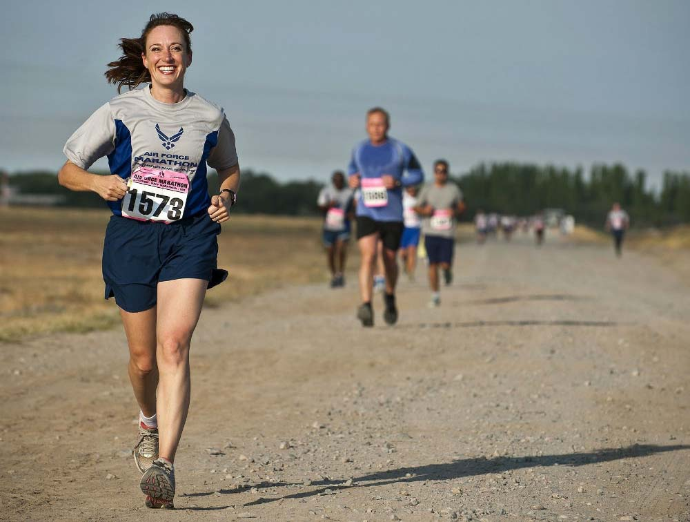 Tooth Decay and Running