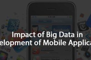 Big Data in Development of Mobile Applications