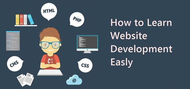 How to learn website development