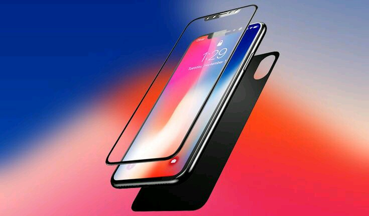 iPhone tempered glass screen
