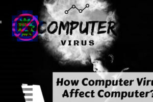 How can virus damage your computer