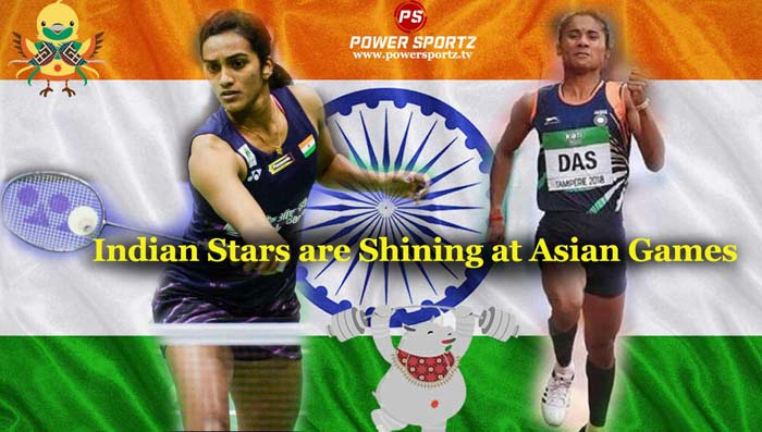 Indian Stars are Shining at Asian Games