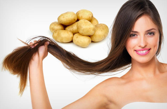 Apply some homemade and natural hair Packs