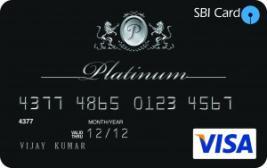 mage result for sbi platinum credit card images