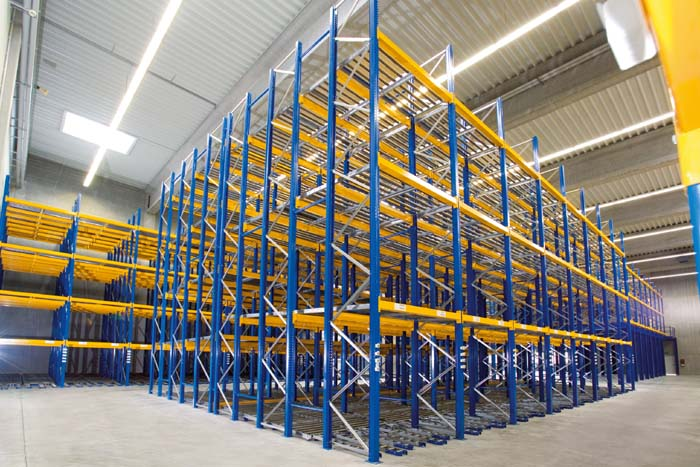 Self-Supporting Warehouse: Its Own Shelf Constitutes The Resistant Structure Of The Building