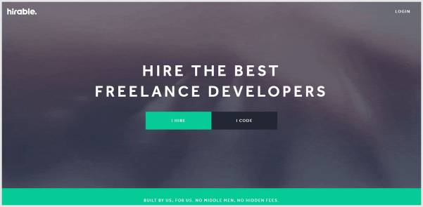 Hirable - Dedicated Platform for Developers