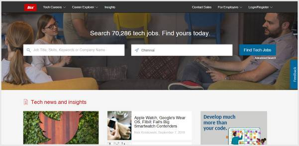 Dice - Job Search for Technology Professionals