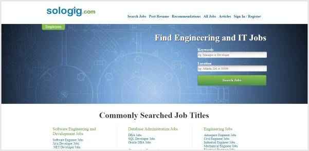 Sologigs - IT and Engineering Jobs