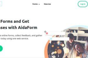 AidaForm Online Form Builder