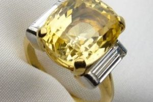 Yellow Sapphire Stone Price Worths Its Priceless Advantages