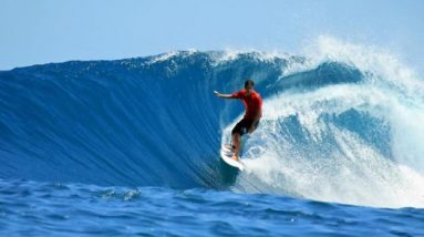 Surfing: the sport of riding waves   Photo: Shutterstock